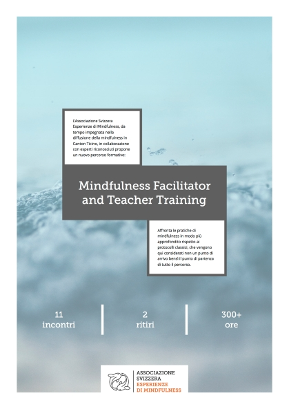 Mindfulness Facilitator and Teacher Training 2018:19