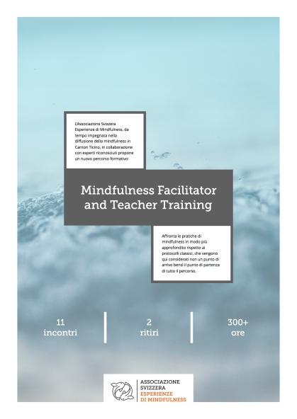Mindfulness Facilitator and Teacher Training 2018:19